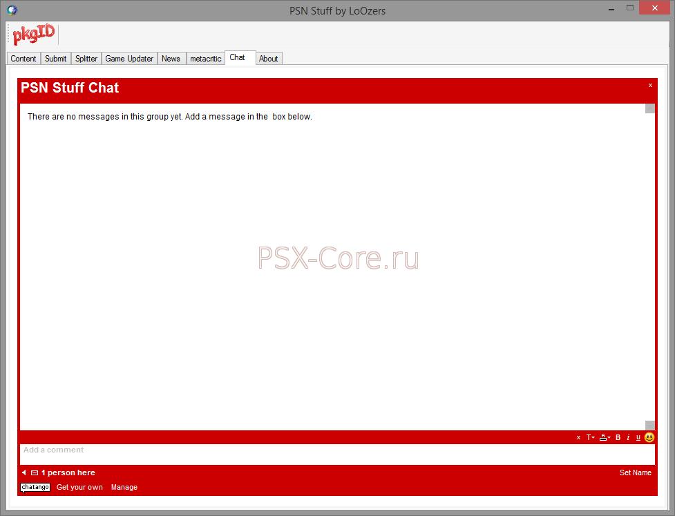 PSN StuffX [3 07 09] - Страница 2 - PSX-Core ru - Программное