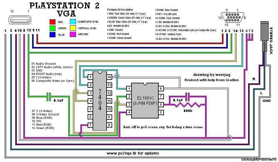 Схема монитора LG Flatron
