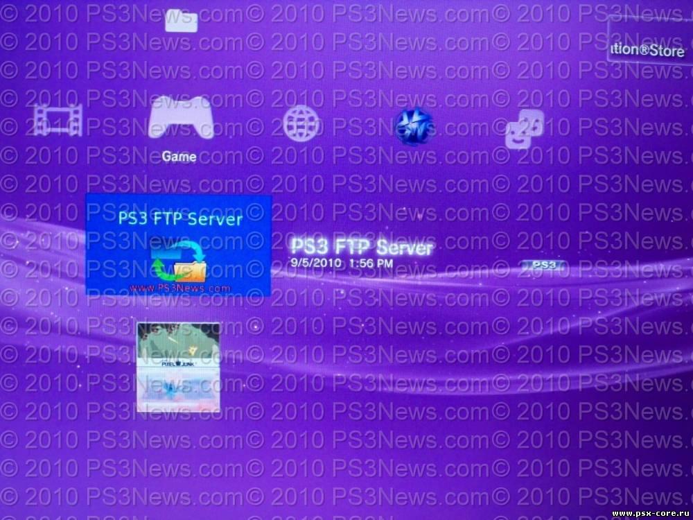 После взлома PS3 Наверх. PS3 FTP Server Homebrew Application - мощная